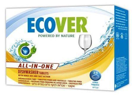 Ecover Tabletas para Lavavajillas 25 unidades