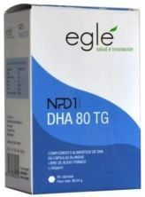 Egle DHA 80 TG NPD1 60 cápsulas