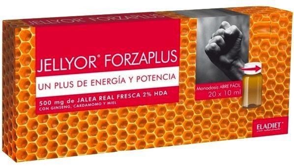 Eladiet Jellyor Forzaplus 20 ampollas