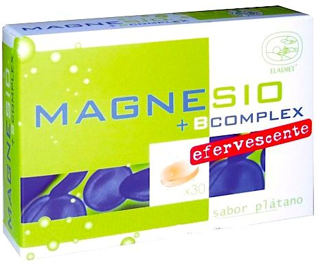 Eladiet Magnesio B Complex 30 comprimidos efervescentes
