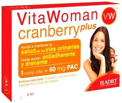 Eladiet Vita Woman Cranberry Plus 60 comprimidos