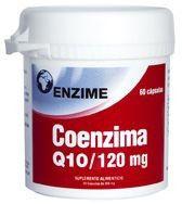Enzime Coenzima Q10 120mg 60 cápsulas