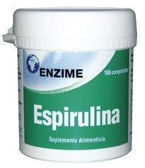 Enzime Spirulina 100 comprimidos