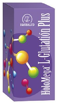 Equisalud Holomega L-Glutatión Plus 50 cápsulas