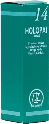 Equisalud Holopai 14 Regulador Ácido Urico 31ml