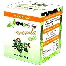 Ergonat Acerola 40 cápsulas