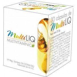 Ergonat Multiliq Multivitaminico 30 cápsulas