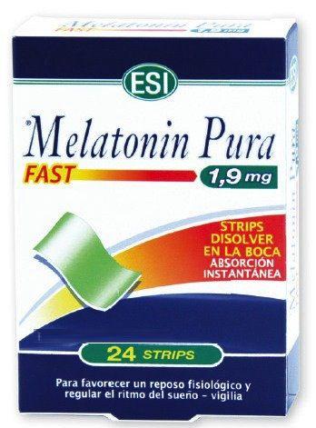 ESI Melatonin Fast 1,9mg 24 strips