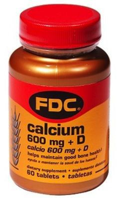 FDC Citrato de Calcio y Vitamina D 60 comprimidos