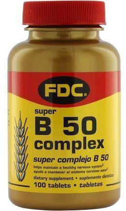 FDC Complex B-50 100 comprimidos