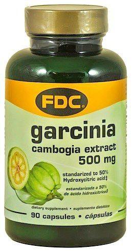 FDC Garcinia Cambogia Pura 500mg 90 cápsulas