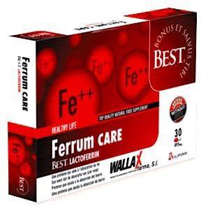 Wallax Farma Ferrum Care 30 cápsulas