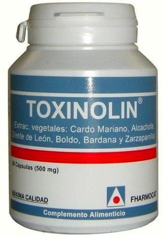 Fharmocat Toxinolin 90 cápsulas