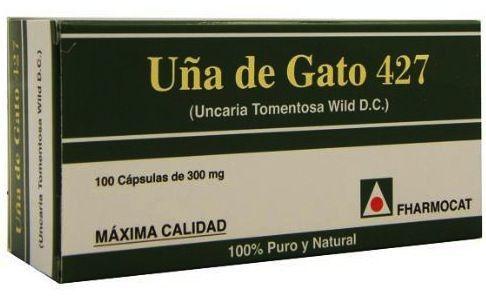 Fharmocat Uña de Gato 427 100 cápsulas
