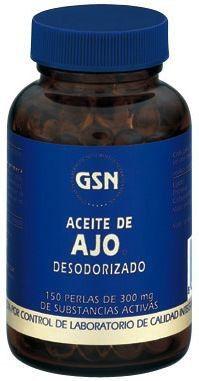 GSN Ajo Desodorizado 300mg 150 perlas