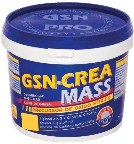 GSN Crea-Mass sabor naranja 2Kg