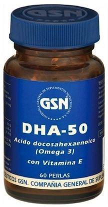 GSN DHA 50 60 perlas