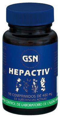 GSN Hepactiv 400mg 90 comprimidos