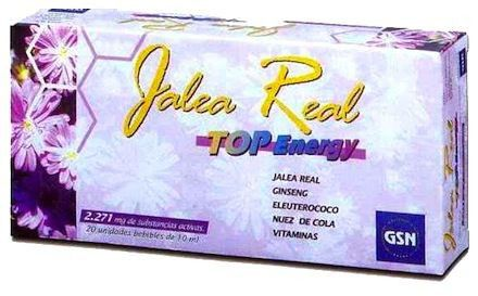GSN Jalea Real Top Energy 2071mg 20 ampollas