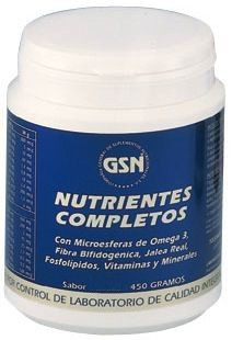 GSN Nutrientes Completos sabor chocolate 450g