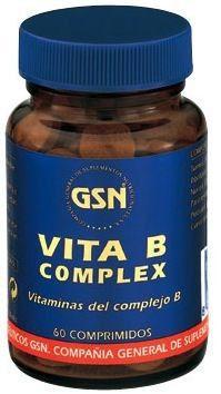 GSN Vita B Complex 60 comprimidos