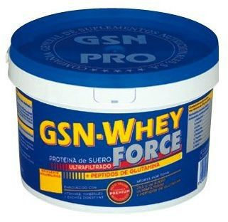 GSN Whey Force sabor chocolate 900g