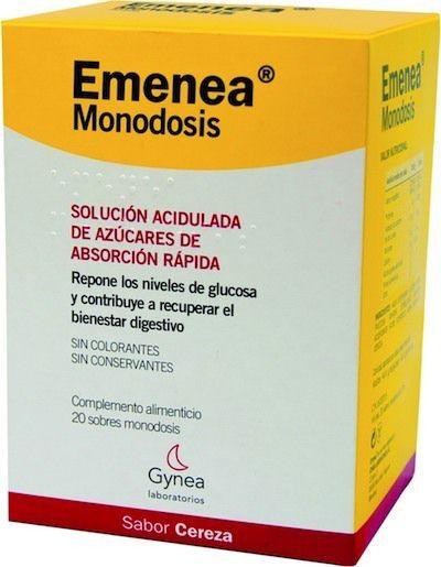 Gynea Emenea Junior Cereza 12 monodosis