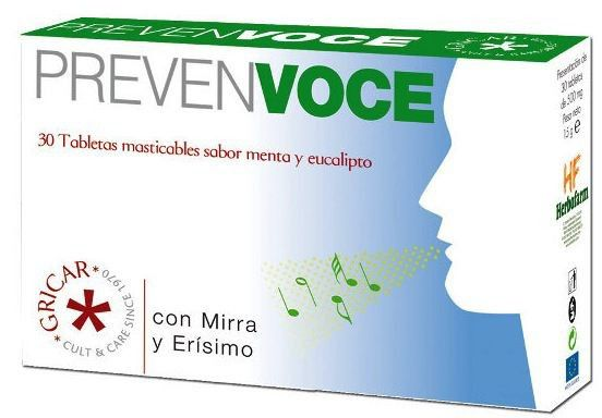Herbofarm Prevenvoce 30 comprimidos