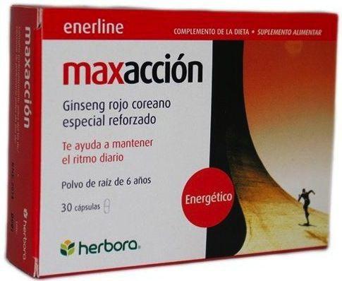 Herbora Maxacción 30 cápsulas