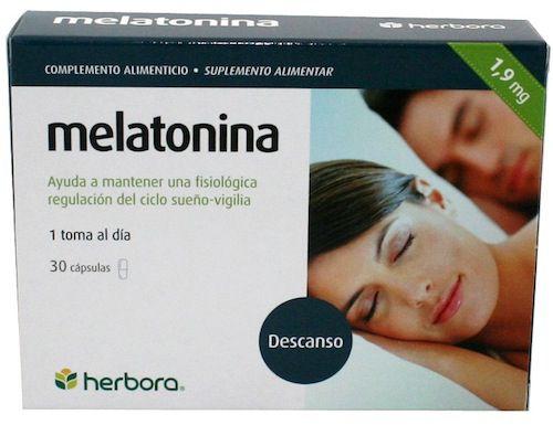 Herbora Melatonina 1,9mg 30 cápsulas