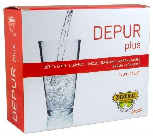 Herdibel Depur Plus 24 ampollas