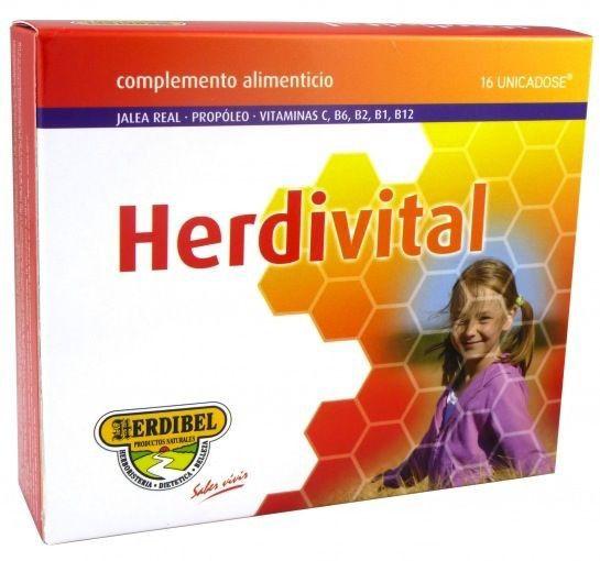 Herdibel Herdivital 16 ampollas
