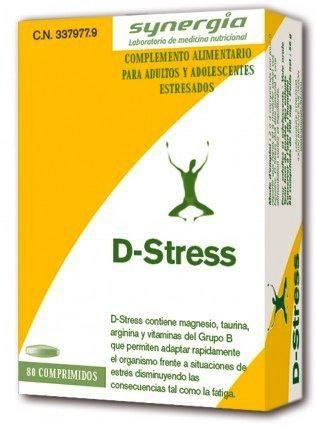 Hilefarma D-Stress 80 comprimidos