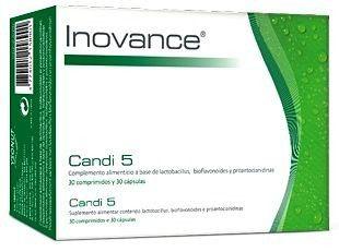 Inovance Candi 5 30 comprimidos y 30 cápsulas