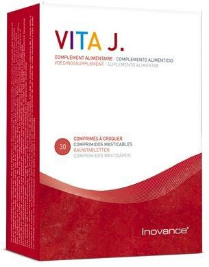 Inovance Vitamina J 30 comprimidos masticables