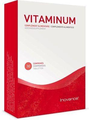 Inovance Vitaminum Vitaminas y Minerales 30 comprimidos