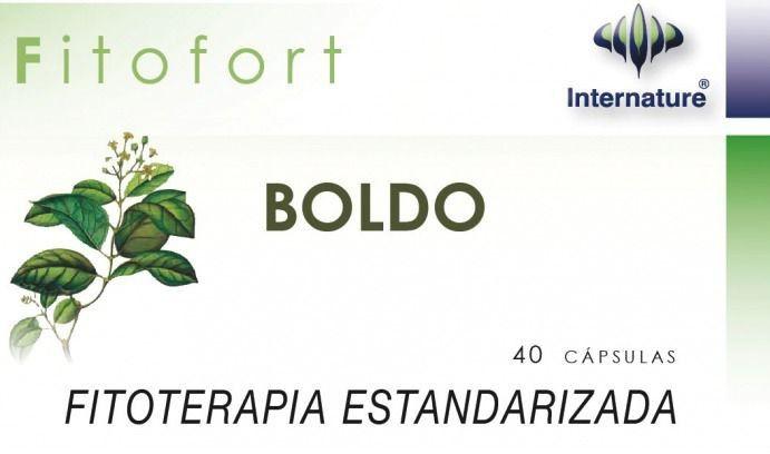 Internature Fitofort Boldo 40 cápsulas