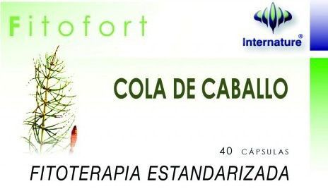 Internature Fitofort Cola de Caballo 40 cápsulas