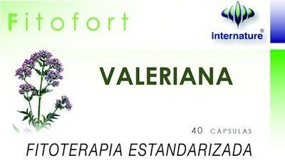 Internature Fitofort Valeriana 40 cápsulas
