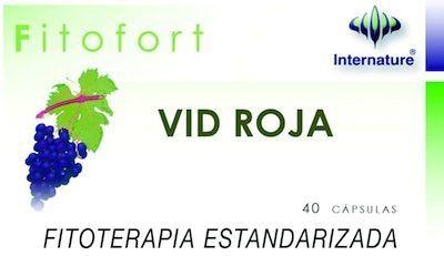 Internature Fitofort Vid Roja 40 cápsulas