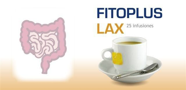 Internature Fitoplus Lax 25 filtros