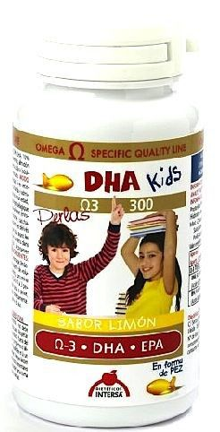 Intersa DHA Kids 90 perlas