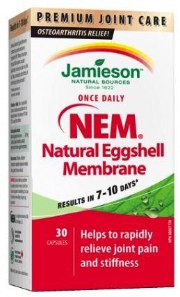 Jamieson Membrana Natural de Huevo NEM 30 cápsulas
