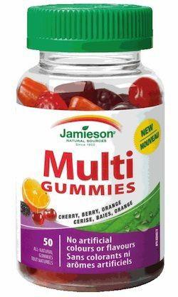 Jamieson Multi Gummies 50 caramelos de goma