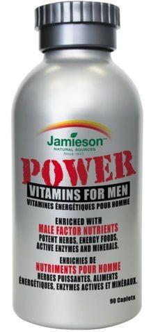 Jamieson Power Vitamins Hombres 90 comprimidos