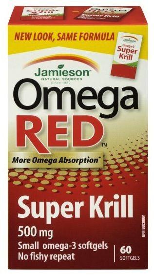 Jamieson Super Krill Omega 3 NKO 600mg 60 perlas