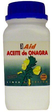Just Aid Aceite de Onagra 500 perlas