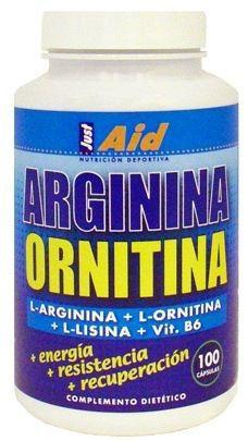 Just Aid Arginina Ornitina 100 comprimidos
