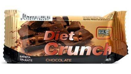 Just Aid Diet Crunch Chocolate caja 32 barritas