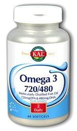 KAL Omega 3 720-480 60 cápsulas